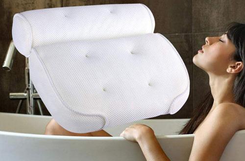 Evelyn Bath SPA LuxuryBig 3D MeshBathtub Pillow