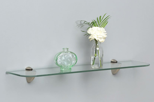 Shelf-Made KT-0134-624SN Glass Bathroom Shelves
