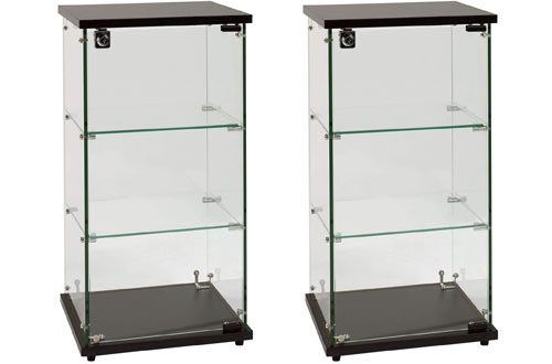 SSWBasics Infinity Countertop Glass Display Cases