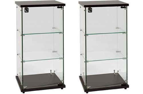 SSWBasics Infinity Countertop Glass Display Cases