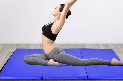 Tumbling Mat with Handles for Gym