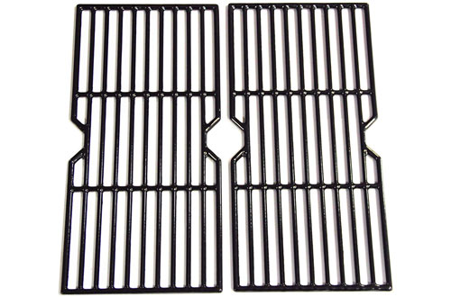 Hongso Cast Iron Cooking Grid Grates Replacement for Select Gas Grill