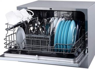 EdgeStar DWP62SV Energy Star Rated Small Portable Dishwasher