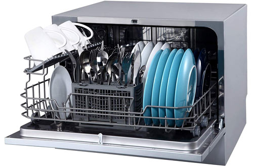 EdgeStar DWP62SV Energy Star Rated Small Portable Dishwasher