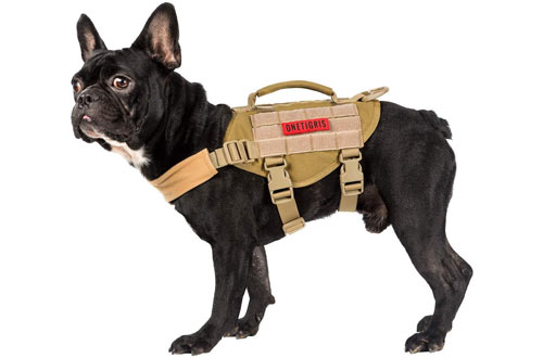 OneTigris Beast MOJO Tactical Dog Harnesses for Small, Medium Puppy Dog