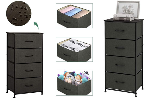 Tall Narro Dressers for Bedroom