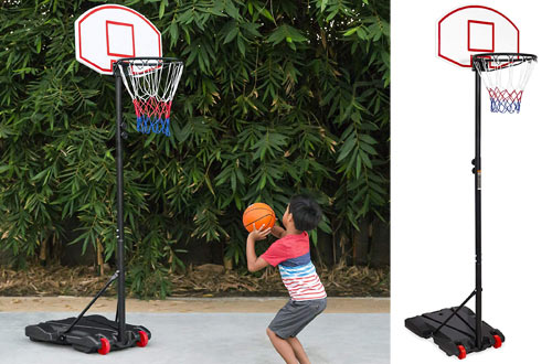 Best Portable Adjustable Basketball Hoops for Kids