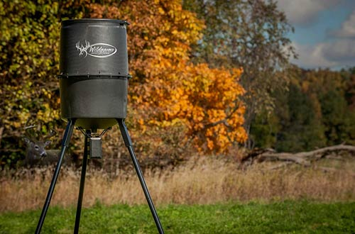 Wildgame Innovations W225D Tri-Pod Digital Deer Feeders with Feed Time