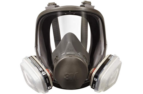 3M Full Face Respirators - Packout Organic Vapor P95