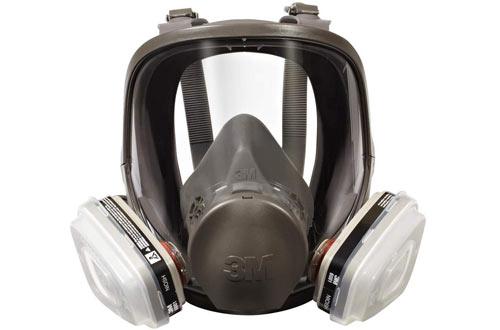3M Full Face Respirators - Packout Organic Vapor P95