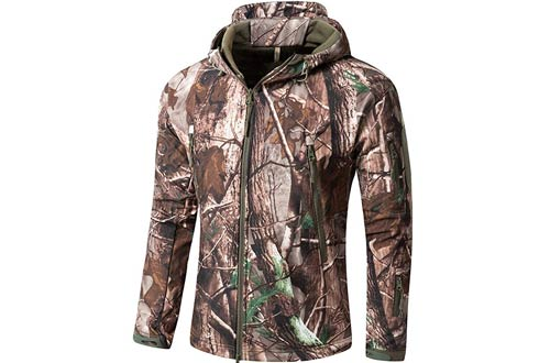 Camo Coll Men's Outdoor Soft Shell Tactical Jacket