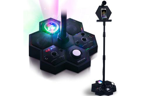 Singsation Performer Deluxe BluetoothKaraoke Machines for Kids & Adults