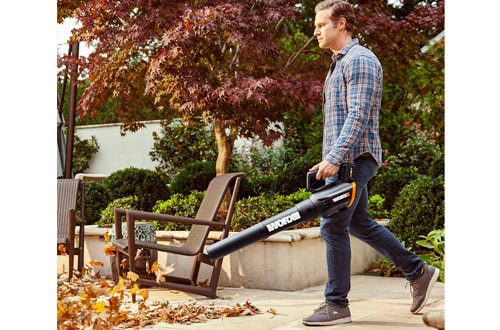 WORX WG547.3 20V 4.0Ah Cordless Battery-Operated Leaf Blowers