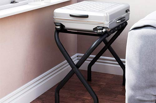 SONGMICS URLR64B Metal Luggage Racks