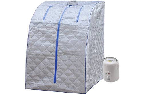 Durherm Portable Therapeutic Spa Steam Sauna at Home