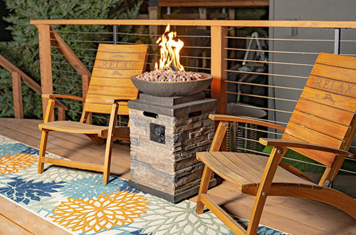 Bond Manufacturing 63172 Newcastle Propane Fire Pits