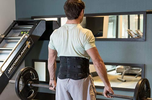 FlexGuard Lower Back Braces - Lumbar Support Waist Backbrace for Back Pain Relief