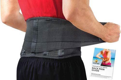 Sparthos Back Braces for Back Pain, Herniated Disc, Sciatica & Scoliosis