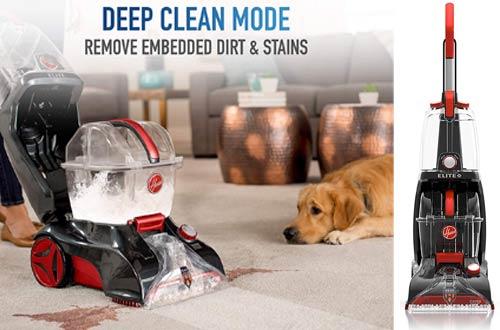 Hoover Power Scrub Lightweight Pet Carpet Cleaner Machines and Shampooer