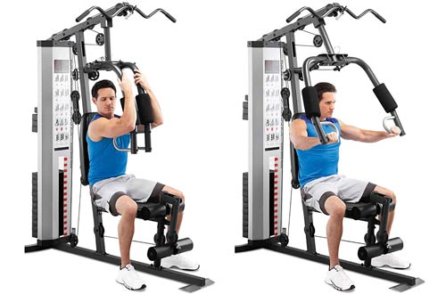 Marcy MWM-988 Multifunction Steel Home Gym 150lb Stack