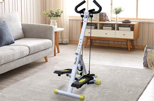 Doufit ST-01 Foldable Stepper for Exercise Machine - Step Workout Machine