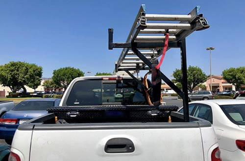 MaxxHaul 70233 Heavy Duty Ladder Rack for Truck