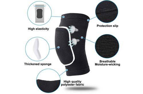 BasketballKnee Pads for Youth and Adult