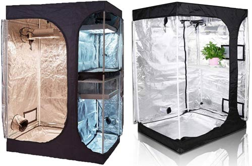 TopoGrow Indoor Grow Tents for Lodge Propagation and Flower Plant Growing