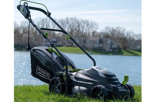 American Lawn Mower Company Walk Behind Electric Lawn Mowers