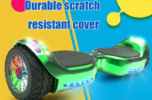 HOVERSTAR HS2.0All TerrainHoverboard - 2-Wheel Self Balancing Electric Scooter with Bluetooth Speaker