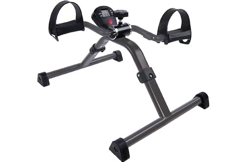 Vaunn Medical Folding Pedal Exercisers for Legs and Arms