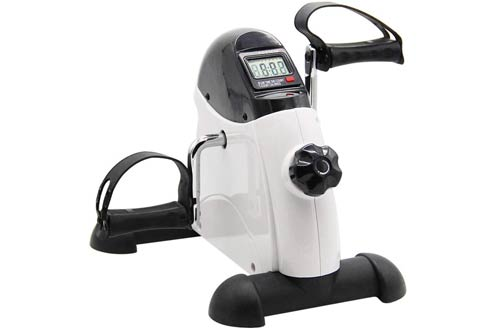 Hausse Portable Exercise Pedal Bike for Legs & Arms - Mini Exercise Peddler