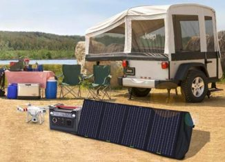 ECO-WORTHY 120W Foldable Solar Panel Kits for Battery, Power Bank & Generator