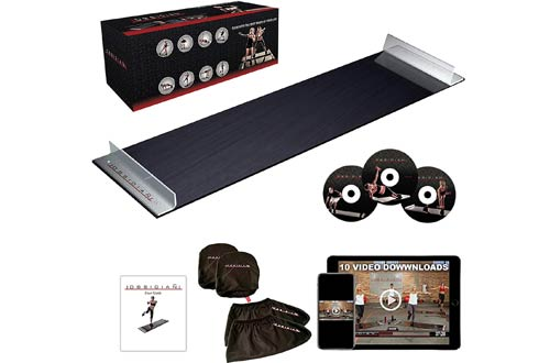 Obsidian Exercise Slide Boards - Fitness Board for Weight Loss and HIIT