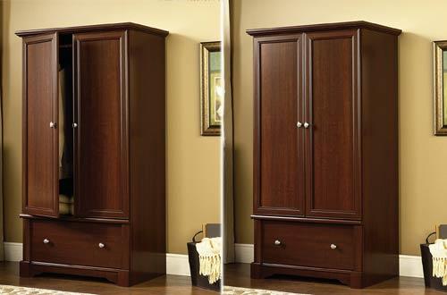 Sauder PalladiaSelect Wooden Armoire Dresser