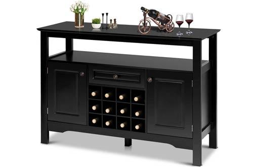 Giantex Buffet Server Wood Wine Cabinets