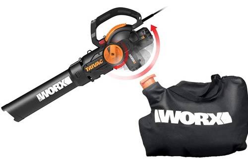 WORX WG512 Electric Vacuum Blower - Leaf Mulchers
