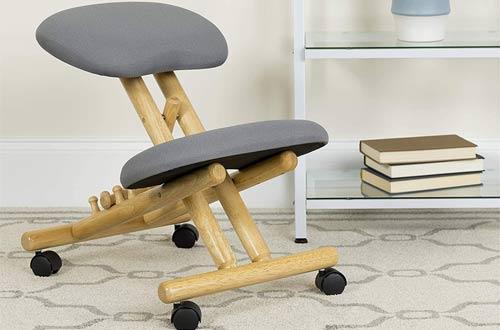 Wooden Ergonomic Kneeling Office Chair
