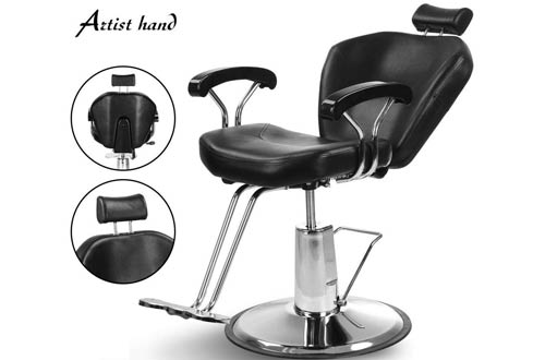 Artist Hand Rolling Reclining Barber Chair for Sale