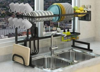 Dish Drainer Rack for Kitchen