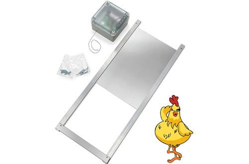 Electric Auto Chickenguard Door for Coops