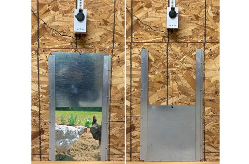 Automatic Chicken Door Openers with Motor and Timer