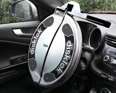 Disklok Security Device - Steering Wheel Lock for Car