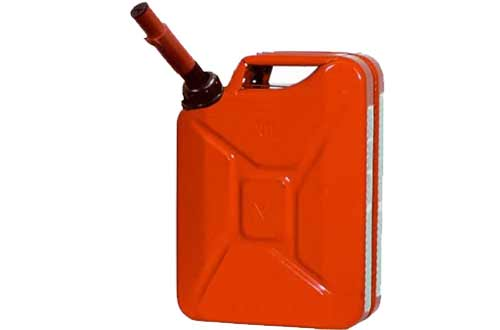 Midwest 5 Gallon Metal Jerry Gas Cans