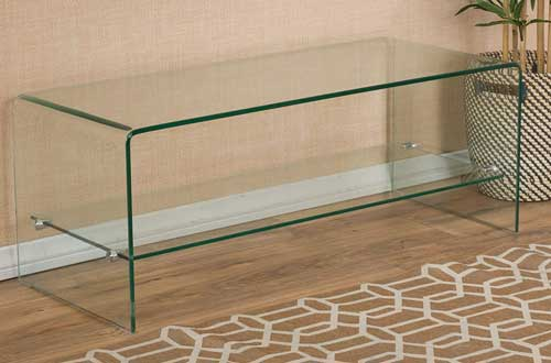 Christopher Knight Home Bartlet Tempered Clear Glass TV Stands