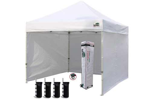 Eurmax 10 x 10 Ez Pop up Canopy Tents