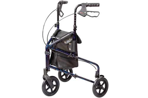 Carex MedicalRollator Walkers with Three Wheels