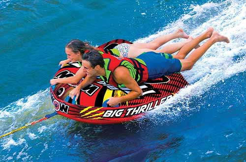2 Person Towable Tubes for Boating