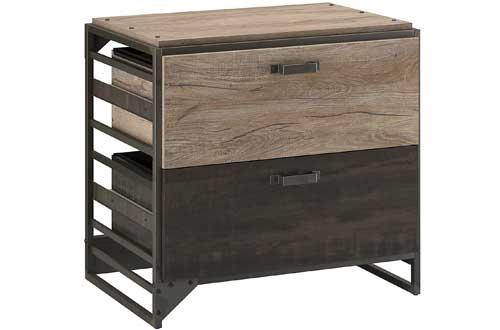 Bush Furniture Refinery Lateral File Cabinets