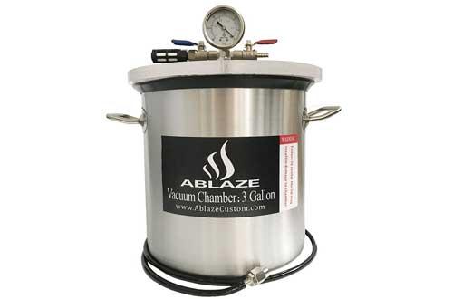 ABLAZE 3 Gallon Gal Vacuum Chambers